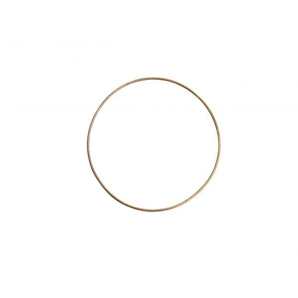 Parts4Living Metallring zum Hängen, Basteln & Dekorieren Skandi gold 15x0,3 cm