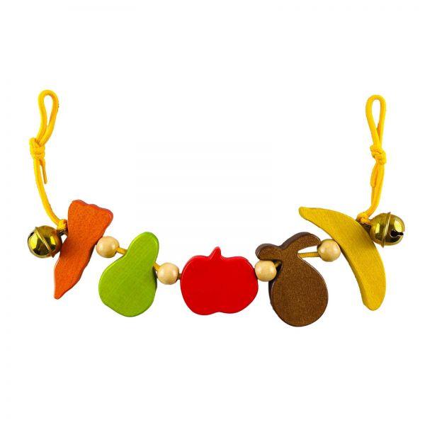 Parts4Living Kinderwagenkette Obst und Gemüse speichelfest und ungiftig ca. 50cm