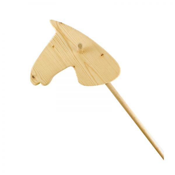 Parts4Living Steckenpferd aus Holz Holzpferd Spielzeugpferd Holzspielzeug